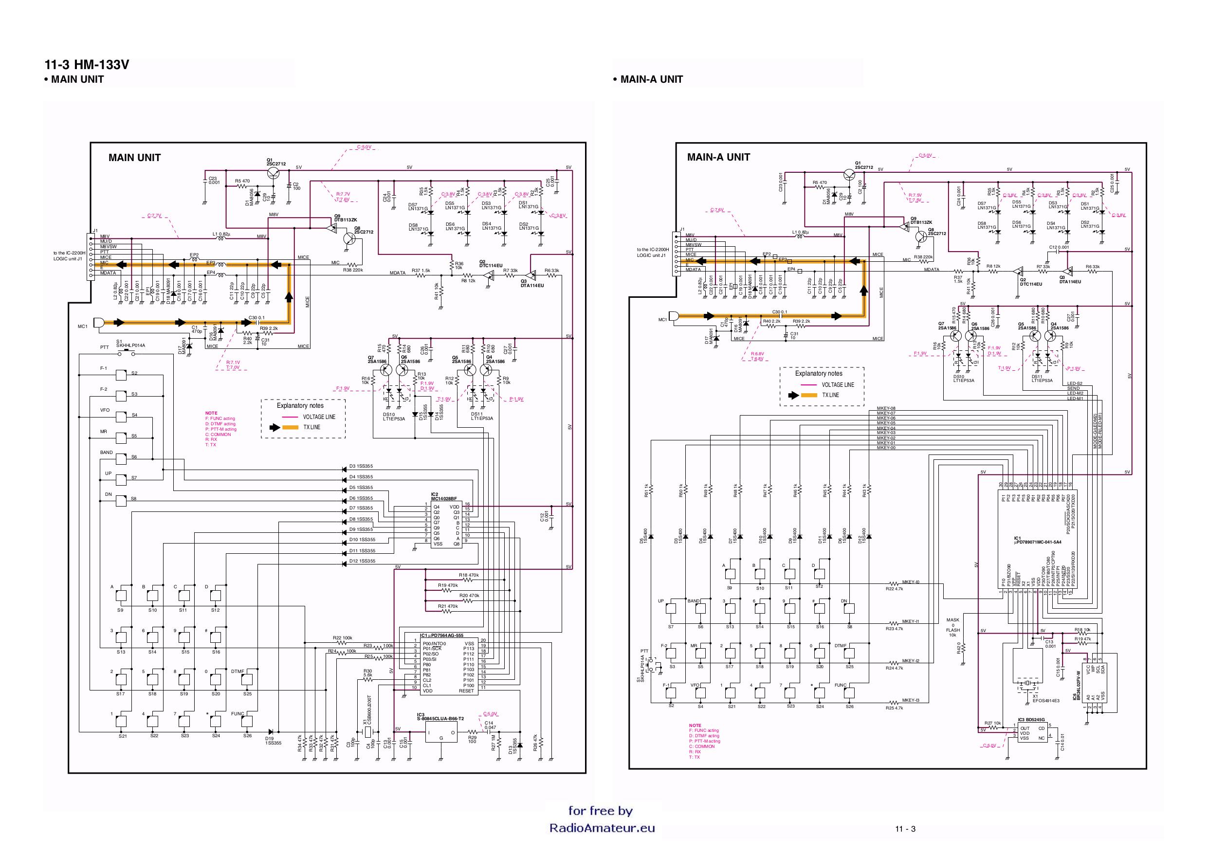 Icom Hm 152 Manual