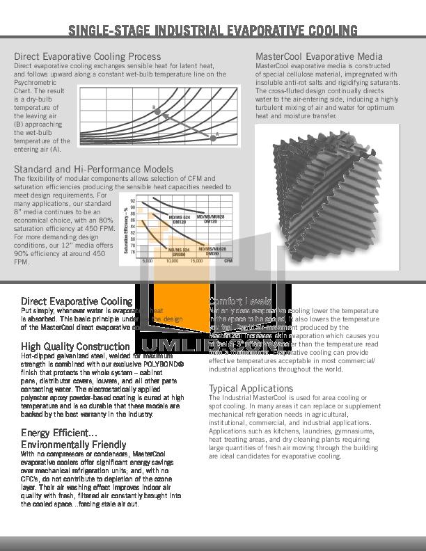 Adobe air Evaporative cooler manual
