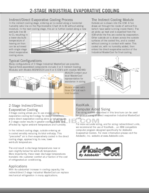 Adobe air Evaporative cooler manual