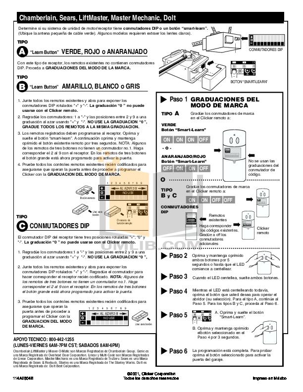 How To Reset Clicker Garage Door Keypad Dandk Organizer