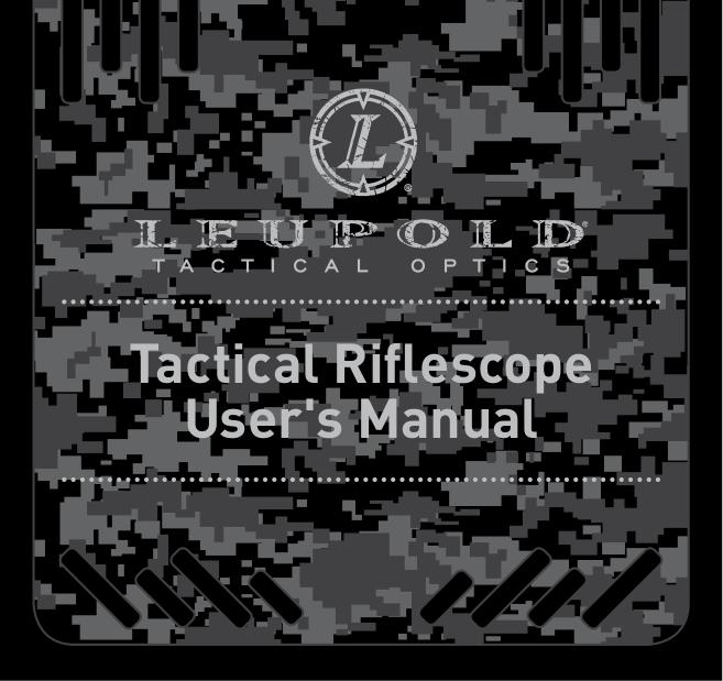 pdf for Leupold Binocular MIL DOT manual