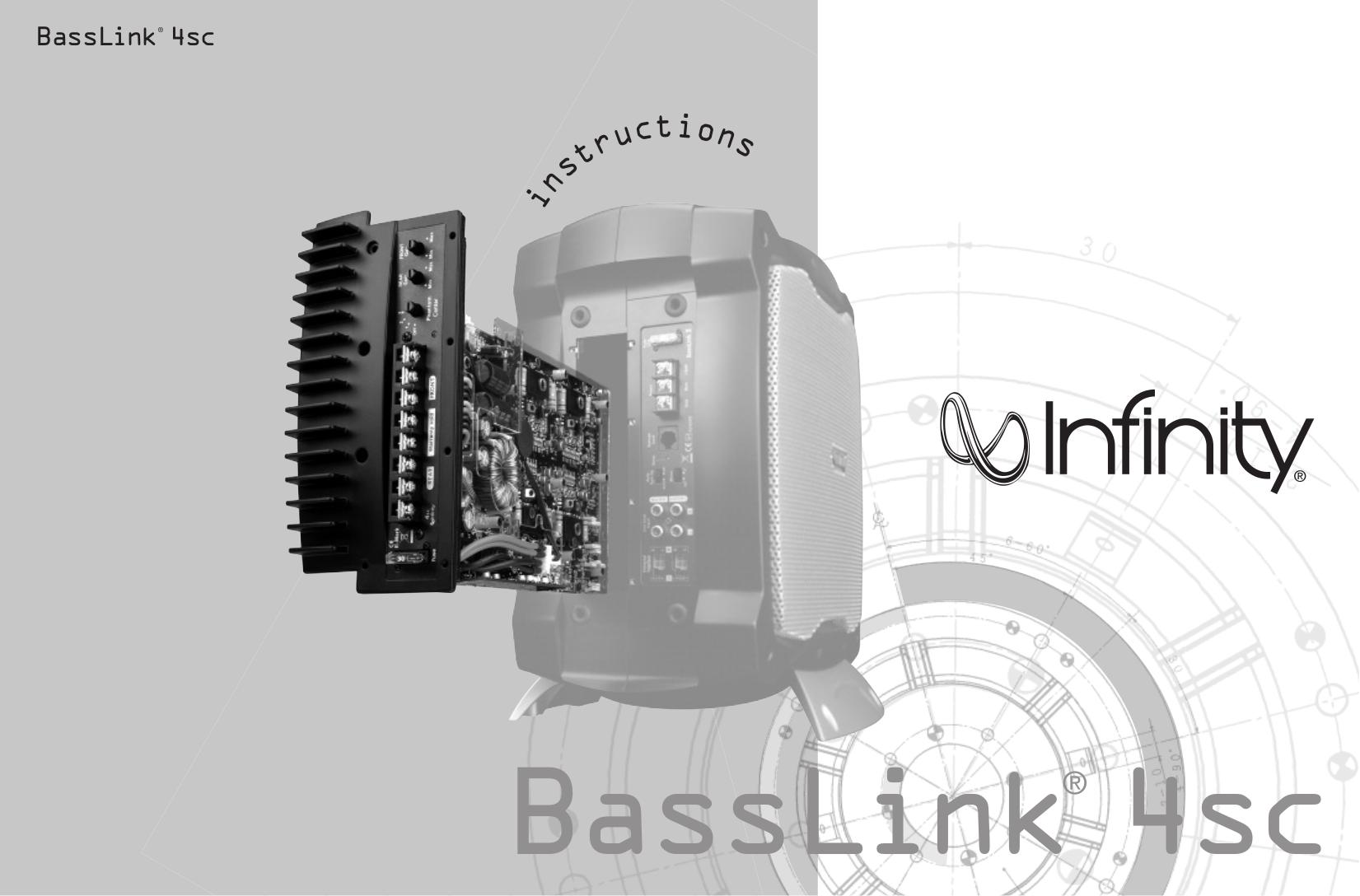 pdf for Infinity Car Amplifier Basslink 4SC manual