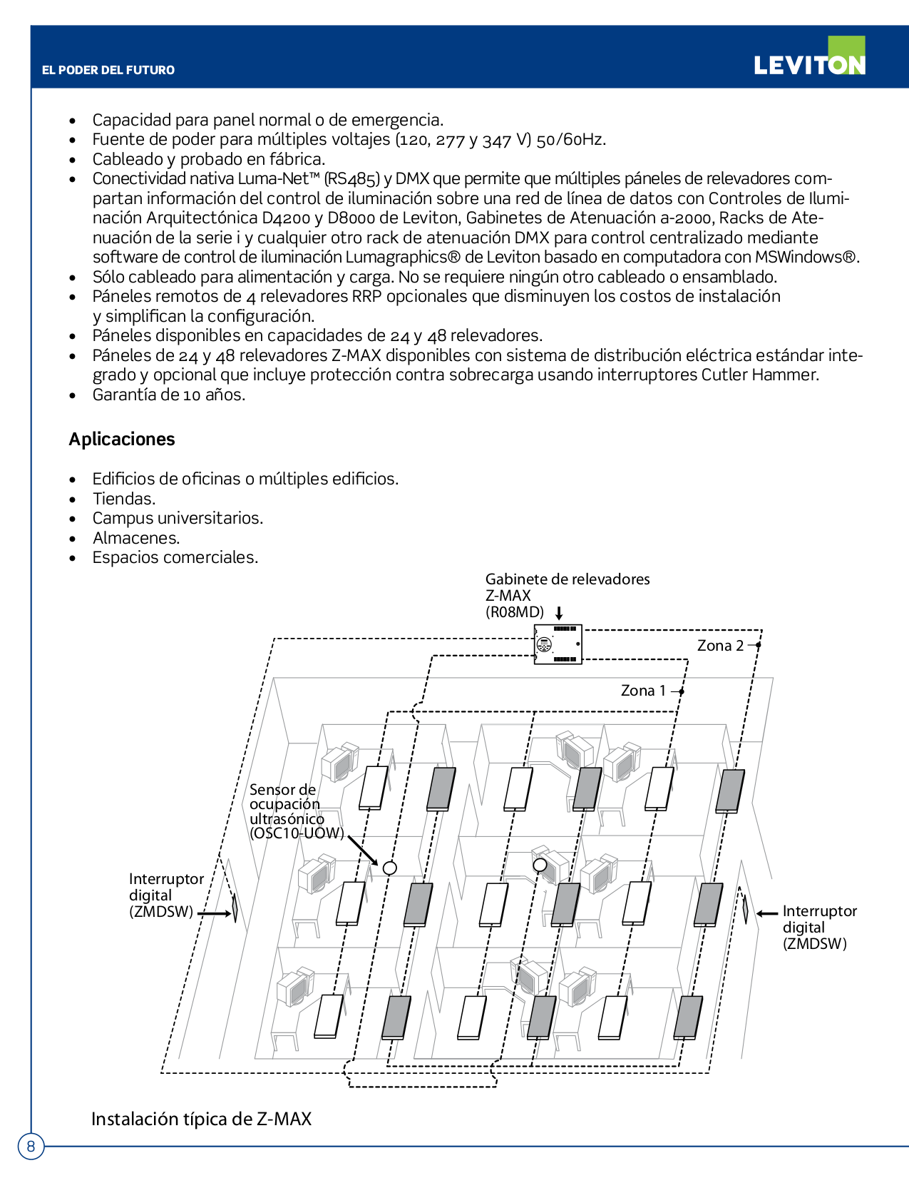 Wire Diagram Leviton Ez Max Pdf Manual For Other Miniz Mzd20 102 Harvesting Controller Page Preview