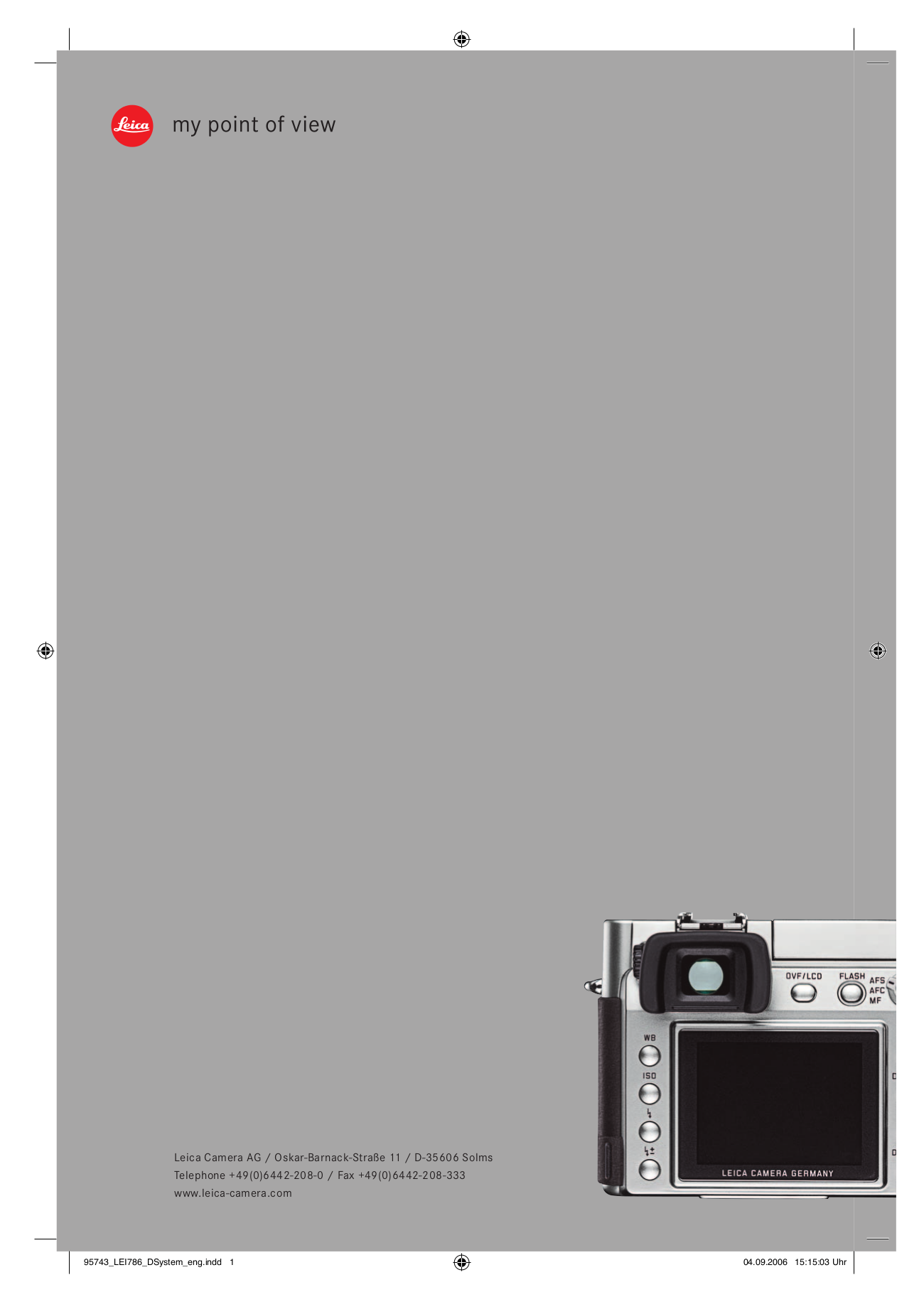 pdf for Leica Projector Pradovit PC manual