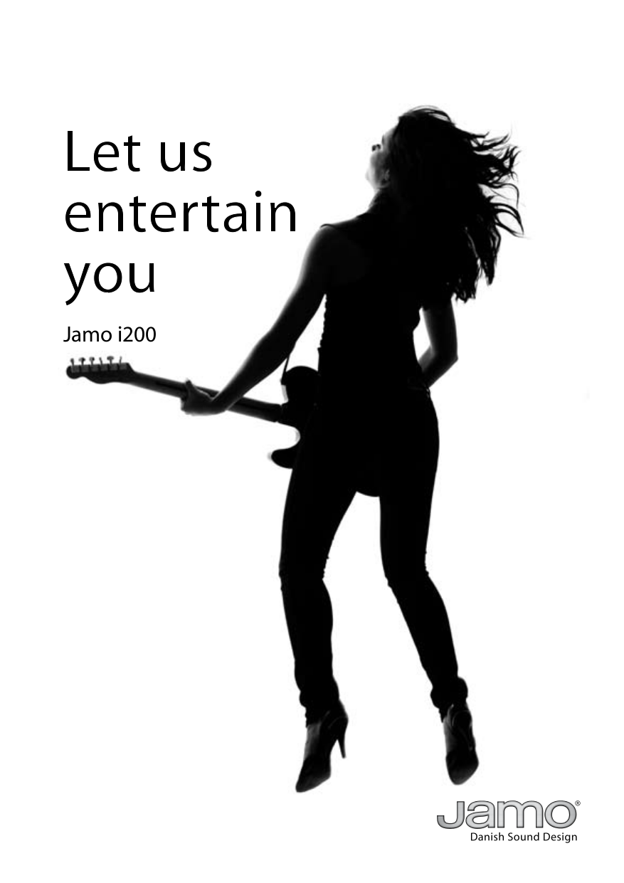pdf for Jamo Subwoofer SUB 200 manual