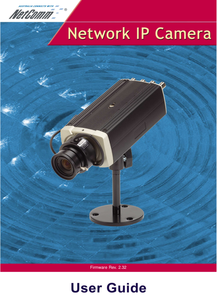 pdf for Netcomm Security Camera NS4100 manual