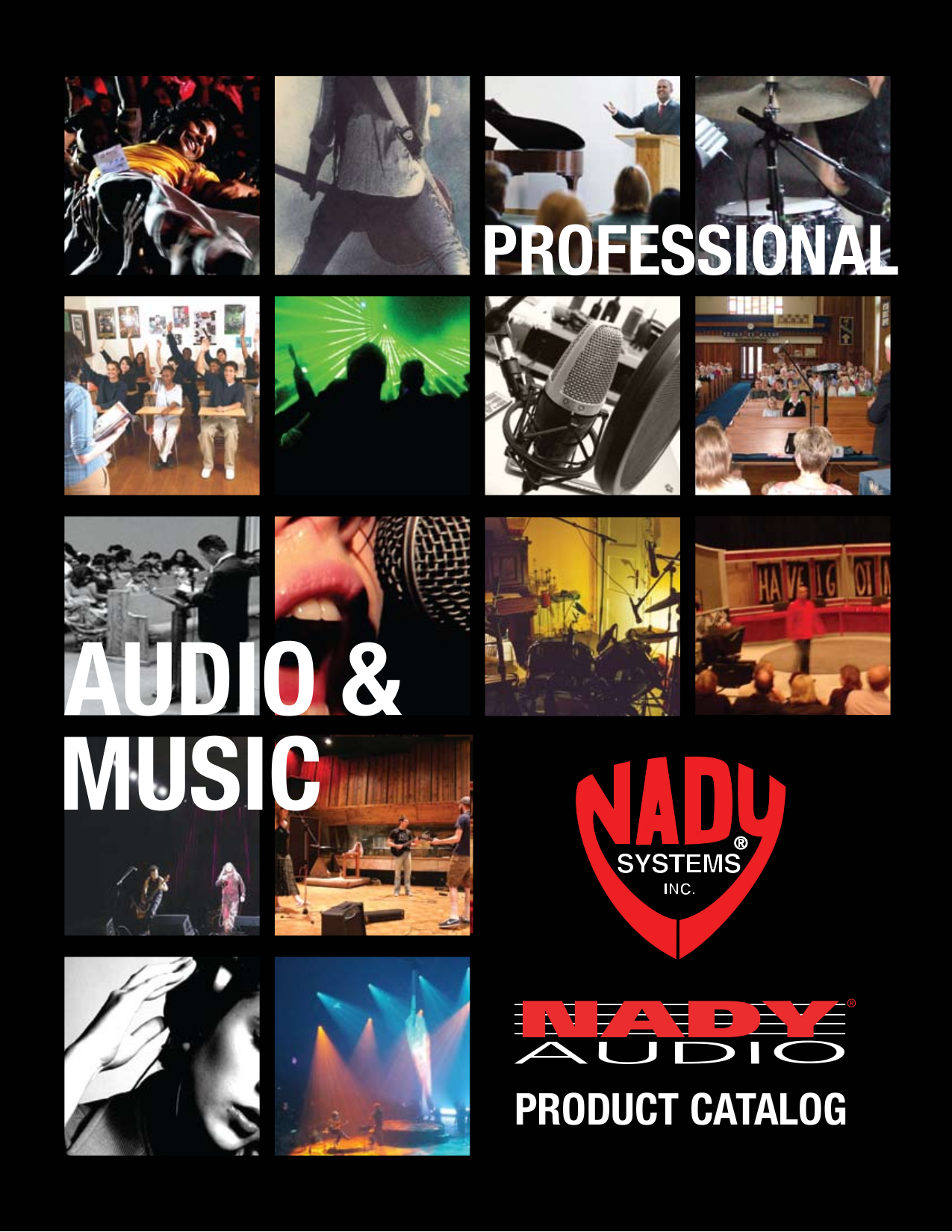 pdf for Nady Amp SPA 2400 manual