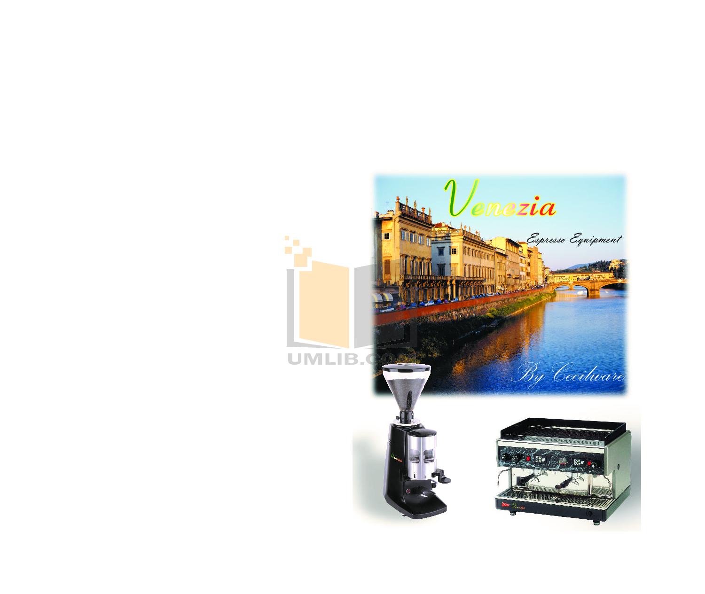 pdf for Cecilware Coffee Maker VAE-J1 manual