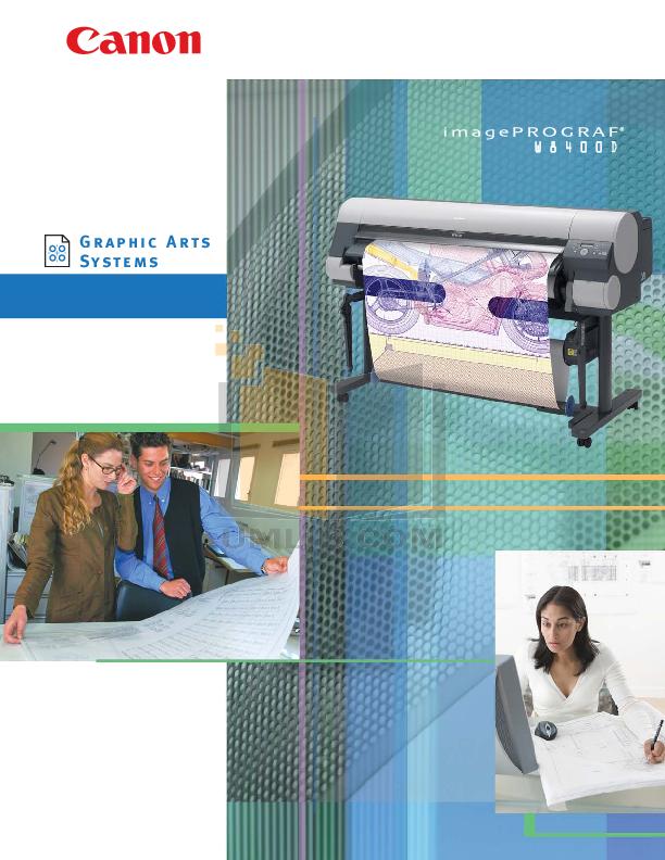 pdf for Canon Printer imagePROGRAF W8400D manual