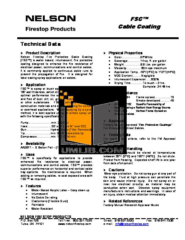 pdf for Focus Storage FS-C manual