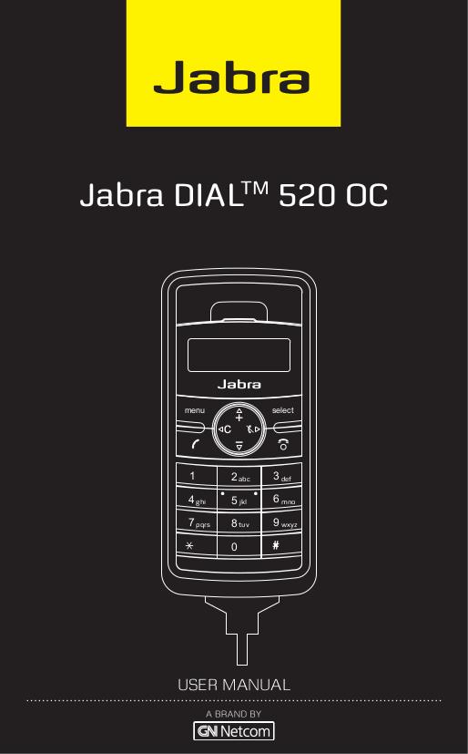 pdf for Jabra Telephone DIAL 520 OC manual