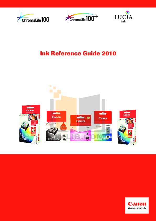 pdf for Canon Printer BJC-S300 manual