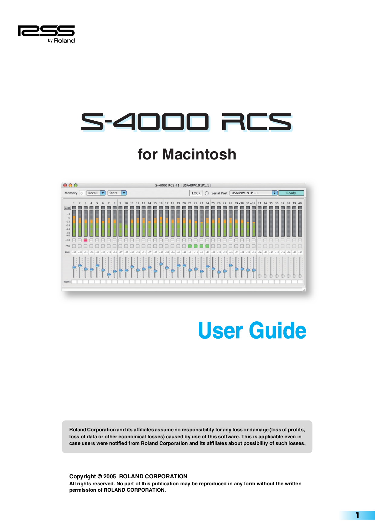 pdf for Keyspan Other USA-49WLC USB Adapter manual