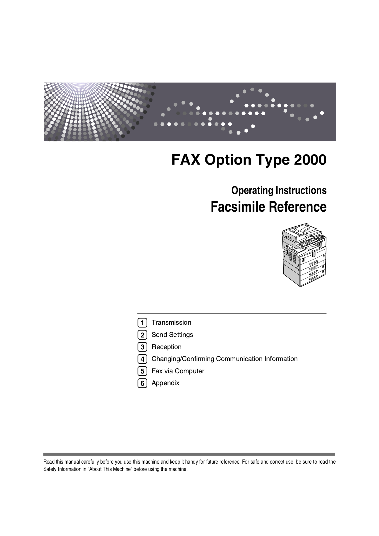 Ricoh Fax Manuals Http Mk1 Performance Conversions Co Uk Wiring Diagram Moke To 1967 Array Download Free Pdf For Fax2000l Machine Manual Rh Umlib Com
