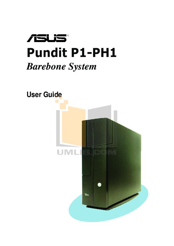 pdf for Asus Desktop V2-PH1 manual