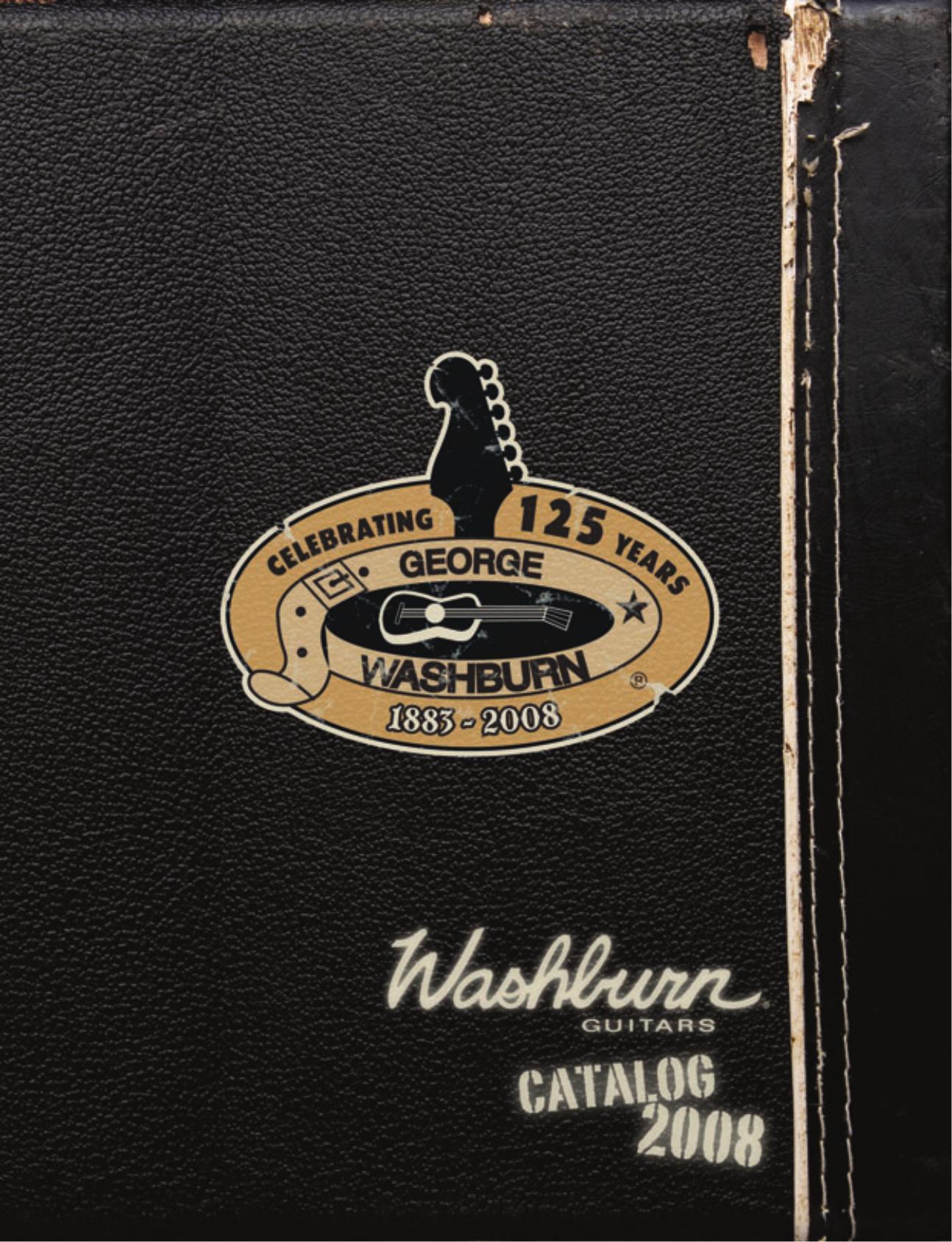 pdf for Washburn Guitar Festival Series EA17 manual