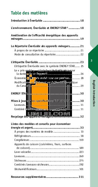Estate Dishwasher TUD6710WQ pdf page preview