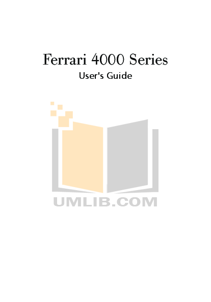 pdf for Acer Monitor Ferrari F-20 manual