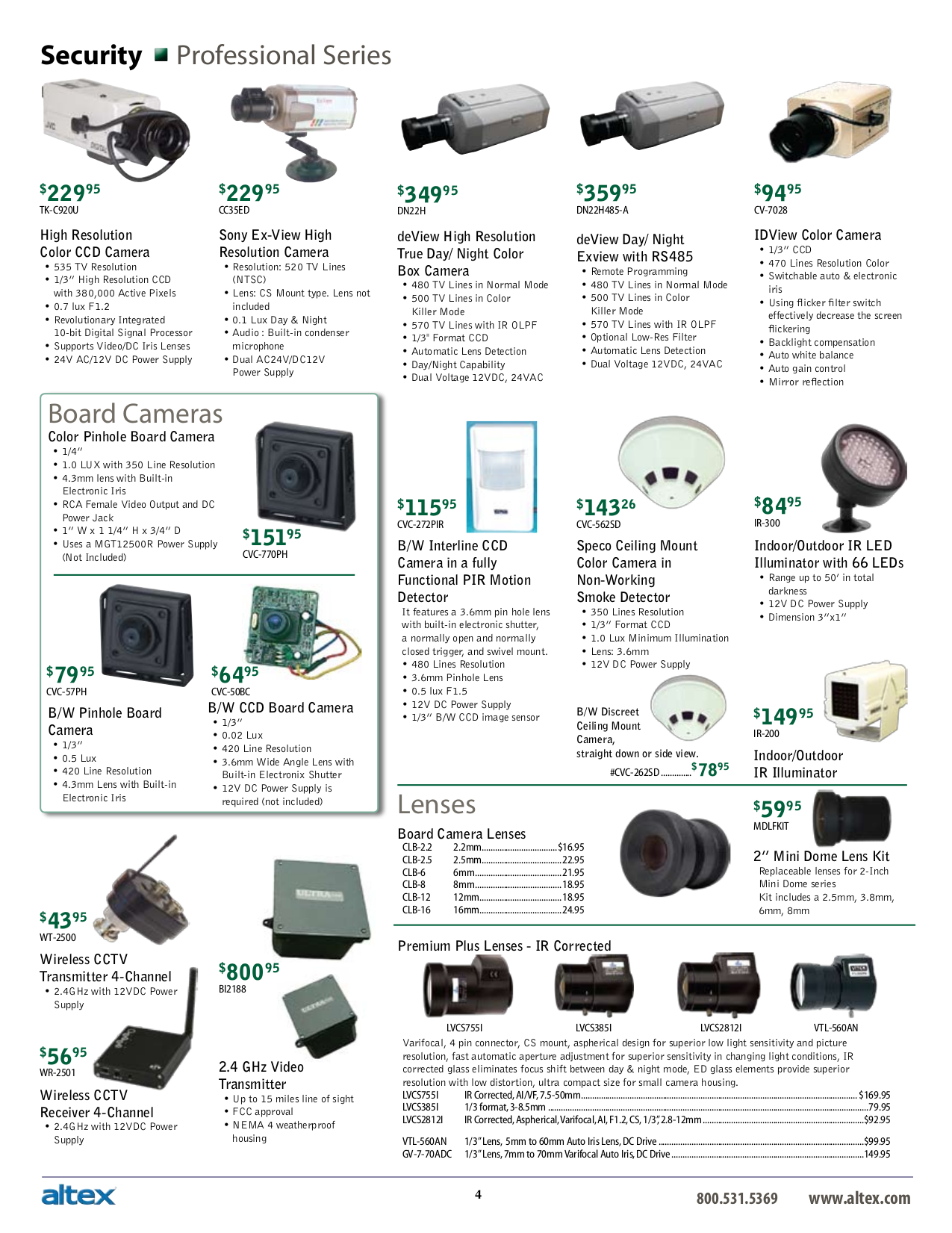 Netcomm Security Camera NS4000 pdf page preview